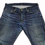 JAPAN BLUE JEANS 500回以上履いてこんな感じに色落ちしました!