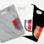 KAKATOTOポケット付きTシャツ-幸呼来Japanコラボ-
