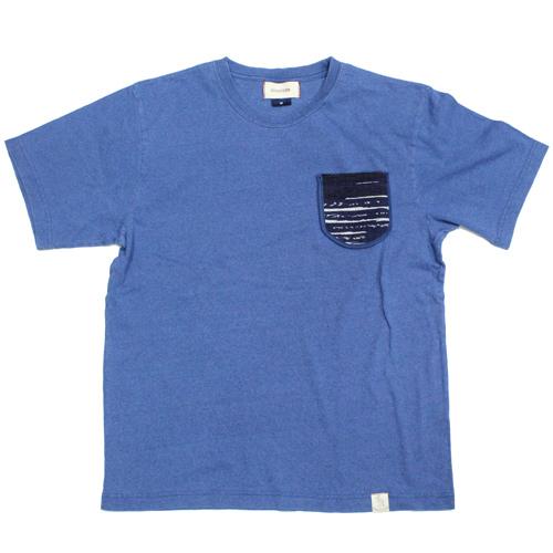 KAKATOTOポケット付きTシャツ-幸呼来Japanコラボ