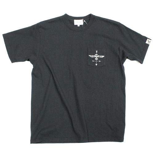 Acoustic(アコースティック)ポケット付きTシャツ