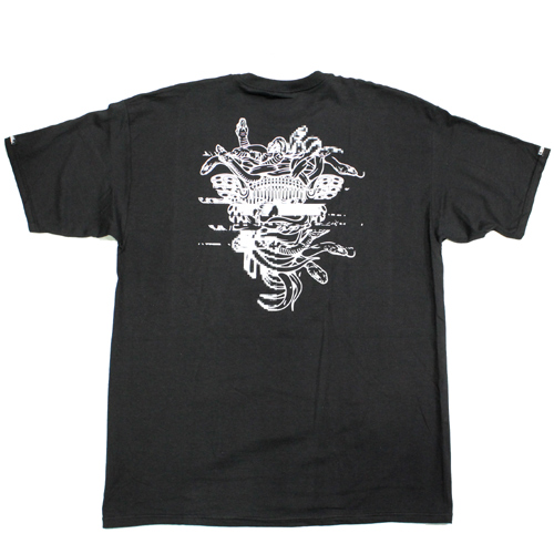 crooks&castles(クルックスアンドキャッスルズ)Tシャツブラックメデューサ