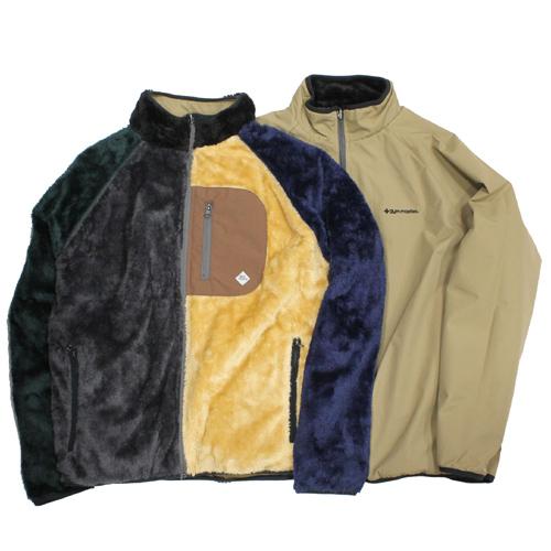 GYMMASTER(ジムマスター)バーシブルボア×タスロンスタンドジャケット