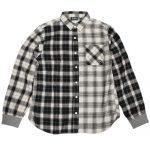 GYMMASTER(ジムマスター)切り替えチェックシャツ-ホワイトクレイジーカラー-が入荷しました。
