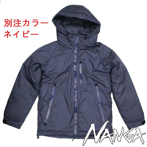NANGAオーローラジャケットの別注カラーのネイビーが入荷