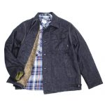 HOUSTON×DENIME(ドゥニーム)コラボA2デッキジャケットでコーディネート