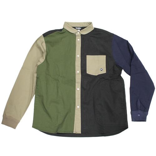 GYMMASTER(ジムマスター) ストレッチヘリンボーンシャツジャケット が入荷しました。
