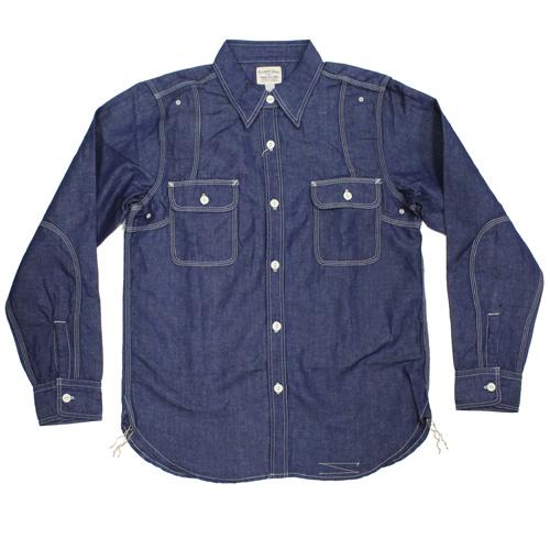 Pherrow's(フェローズ)シャンブレーワークシャツが入荷しました!