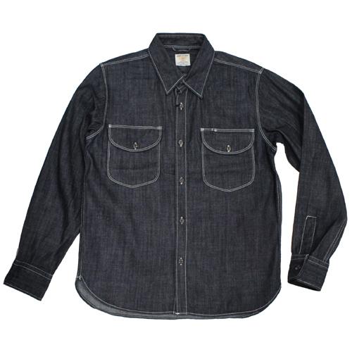 HOUSTON(ヒューズトン)デニムワークシャツが入荷