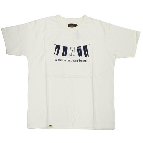 ジャパンブルージーンズプリントTシャツが入荷